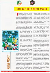 Republic Of Ireland vs United States Of America - 1992 - Page 15 (The Sky Strikers) Tags: republic of ireland eire united states america usa lansdowne road international match friendly official souvenir programme one pound fifty