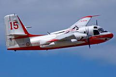 F-ZBET Grumman Conair US-2B Tracker Turbo Firecat  Istres 03-06-16 (Antonio Doblado) Tags: airplane aircraft aviation aviacion istres tracker grumman botijo us2 conair firecat fzbet