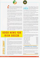 Republic Of Ireland vs United States Of America - 1992 - Page 7 (The Sky Strikers) Tags: republic of ireland eire united states america usa lansdowne road international match friendly official souvenir programme one pound fifty