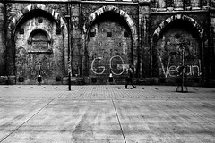 GO (Leica M6) (stefankamert) Tags: film analogue analog grain tübingen blackandwhite blackwhite noiretblanc noir leica leicam6 m6 voigtländer ultron kodak trix people lines tones stefankamert street bw