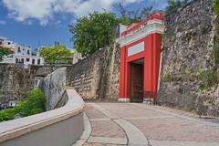 La Puerta de San Juan (guillecabrera) Tags: door colonial spanish walledcity protection oldsanjuan puertorico sony a7iii tamron 2875mmf28e