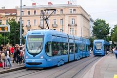 ZAG_2297_201506 (Tram Photos) Tags: tram strasenbahn tramvaj zagreb croatia tramway crotram tmk 2200 niederflur