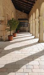 Ein Kerem Arches (Lawrence OP) Tags: jerusalem einkerem arches church visitation shadow holyland pilgrimage