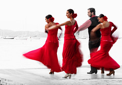 Flamenco dancers (Peter Warne-Epping Forest) Tags: flamenco dancers majorca peterwarne entertainment