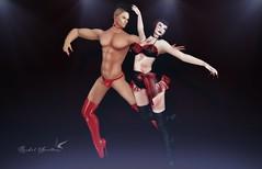 DANCE TILL DEATH (Rachel Swallows Inworld Elenamicheals Core) Tags: accessories avenge ballerina entice fashion jewelry lingerie makeup secondlife shihair vintagefair
