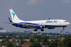 Blue Air (ab-planepictures) Tags: bru ebbr flugzeug brüssel flughafen airport aircraft plane planespotting avaiation