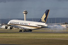 9V-SKG Singapore Airlines Airbus A380-841 (johnedmond) Tags: perth ypph westernaustralia singapore sq airbus a380 australia aviation aircraft aeroplane airplane airliner plane canon ef100400mmf4556lisiiusm eos7d controltower