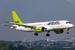 Air Baltic (ab-planepictures) Tags: bru ebbr flugzeug brüssel flughafen airport aircraft plane planespotting avaiation