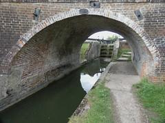 Broughton Bridge and Lock (Peter Ashton aka peamasher) Tags: aylesbury buckinghamshire england unitedkingdom canal water bridge