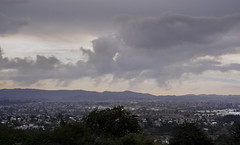 Winter Solstice Clouds from Mount Albert - A Closer View (Den Rob) Tags: winter solstice afternoon clouds hills suburbs nikon d750 sigma art 85mm f14 mist