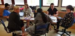 Day 3 - Interviews generate empathy (JimTiffinJr) Tags: vinyl makered pittfab19 tinkering workshop mvifi stickers
