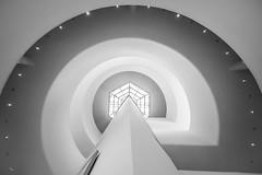 Frank Lloyd Wright - Guggenheim 2 (USpecks_Photography) Tags: guggenheim guggenheimmuseum nyc manhattan newyorkcity uppereastside newyork museumphotography architect architecture modernarchitecture highkey laowaoptics8mmf28 museum museumshop