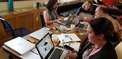 Day 3 - Designing for their user (JimTiffinJr) Tags: vinyl makered pittfab19 tinkering workshop mvifi stickers