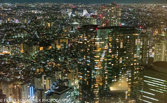 Tokyo at night from the Metropolitan Office Building (Alaskan Dude) Tags: travel japan tokyo asakusa sensoji temple city cityscape sightseeing explore inexplore