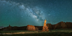 At the end of the Milky Way? Hopi Clown (OJeffrey Photography) Tags: milkyway stars starscape hopiclown nightsky night nightscape lowlevellighting lll artificiallight navajonation navajoreservation res reservation navajo pano panorama ojeffreyphotography ojeffrey jeffowens nikon d850 stitched