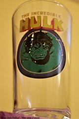 35-52 Josée Ferland - Verre jaune et mauve (Josée Ferland) Tags: hulk marvel superhéro avengers