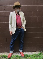 6-24-2019 Today's Clothes (Michael A2012) Tags: this mans summer style vintage fashion stagecoach resistol long rider western hat fur felt brad whitney saddle king cowboy boots custom ely plains
