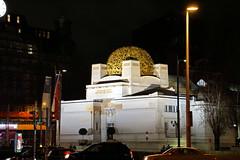 Secession Building (Yuri Rapoport) Tags: 2016 innerestadt night vienna austria