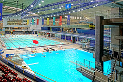 DSC00027 - Olympic Pool (archer10 (Dennis)) Tags: montreal stadium olympic 1976 sony a6300 ilce6300 18200mm 1650mm mirrorless free freepicture archer10 dennis jarvis dennisgjarvis dennisjarvis iamcanadian canada olympicstadium quebec