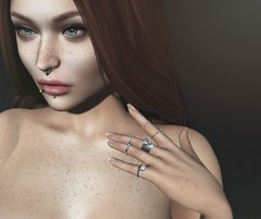 Lovely (AmyBeebe <3) Tags: lelutka aviglam ysys cult truth portrait sl secondlife virtualworlds