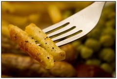 Chips (EddieAC) Tags: macromondays stylingfoodonafork fork chips macro food