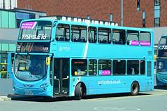 MX61 AYC. (curly42) Tags: arriva 4444 vdldb300 bus wrighteclipsegemini2 transport liverpoolone arrivamerseyside arriva4444