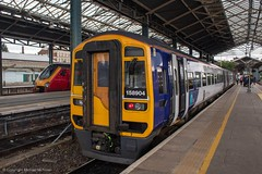 Northern 158904 (Mike McNiven) Tags: arriva railnorth northern dmu diesel multipleunit sprinter expresssprinter manchester manchestervictoria victoria leeds chester cheshire