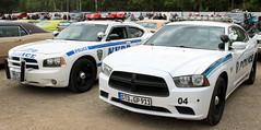 Police Chargers (Schwanzus_Longus) Tags: street mag show german germany hamburg us usa america american modern car vehicle law enforcement police new york nypd department sedan saloon muscle musclecar dodge charger pursuit