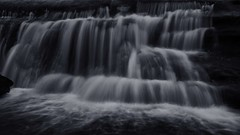 flow (Jim Nix / Nomadic Pursuits) Tags: jimnix austin waterfall bullcreekgreenbelt stream creek longexposure monochrome blackandwhite