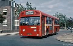 AML60H London Transport LTE SMS 60 (theroumynante) Tags: aml60h london transport lte sms 60 aec swift park royal broadfields edgware dualdoor stepentrance bus buses road singledeck route288 288 sms60
