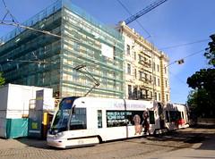 Latvia - Riga tram (onewayticket) Tags: tram transport urban rigassatiksme skoda 15t skoda15t riga latvia alloverlivery