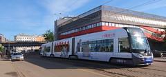 Latvia - Riga tram (onewayticket) Tags: tram transport urban rigassatiksme skoda 15t skoda15t alloverlivery riga latvia