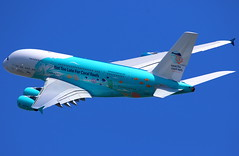 """Hi Fly Malta Airbus A380-841 """"Save the Coral Reefs"""" 9H-MIP (Manuel Negrerie) Tags: fly malta airbus a380841 savethecoralreefs 9hmip hifly a380 livery design aviation jetliner jumbo airliner mirpurifoundation skies flying widebody canon avgeeks travel technology plane spotting trent engines rollsroyce"""