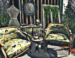 Afternoon and lemons (-Sydney-) Tags: ariskea granola dahila decoration homedecor outdoors patio florix tentacio flora