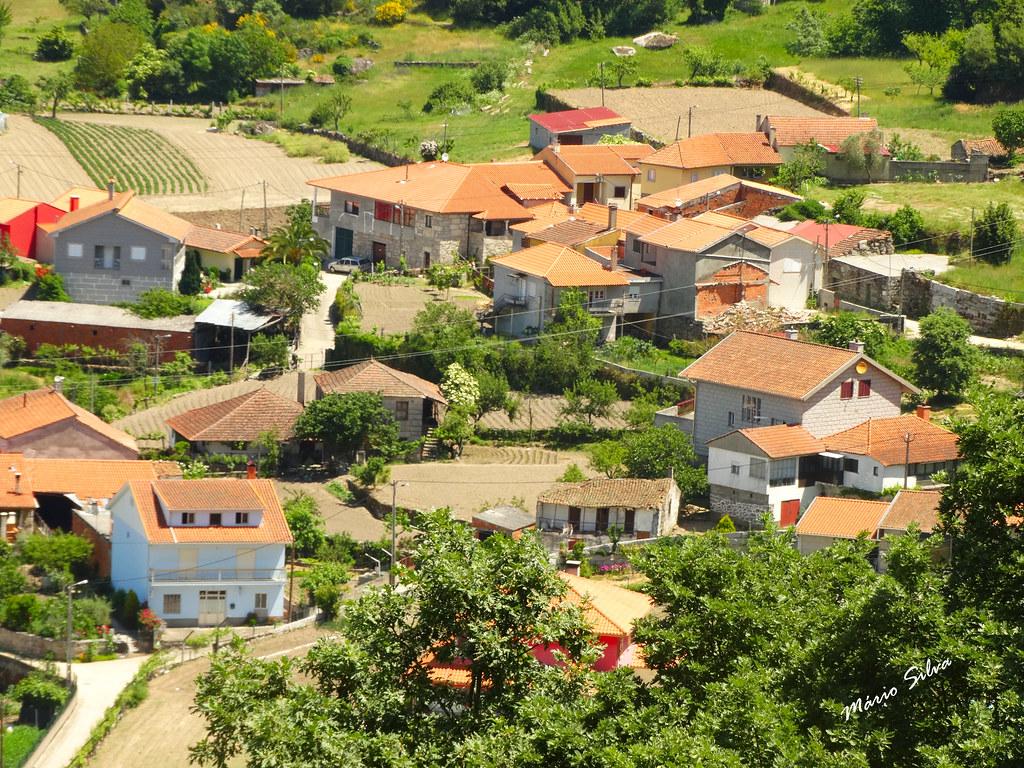 """Águas Frias (Chaves) - ... vista sobre """"Cimo de Vila"""" ..."""