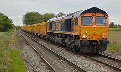 66776 Chesterton Junction Gbrf to Bardon Hill Gbrf (DaveB aka Dave.thewhites) Tags: east goscote train rail
