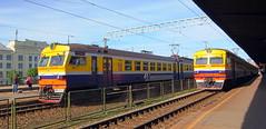 Latvia class ER2T (onewayticket) Tags: electric railway trains transport rvr emu riga latvia