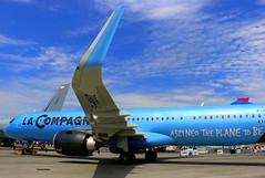 La Compagnie Airbus A321-251NX F-HBUZ (Manuel Negrerie) Tags: compagnie airbus a321251nx fhbuz lacompagnie livery a321neo neo closeup blue design winglets sharklets airlines france travel business canon avgeeks plane technology a321 leap1a pw cfm