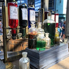 Potions for sale at Diagonal Alley (fozbaca) Tags: ifttt instagram fl flordia orlando orlandofl diagonalley universalstudiosorlando 2019universalorlandotrip