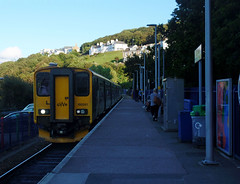 150261 & 150233 St Ives (5) (Marky7890) Tags: gwr 150233 150261 class150 sprinter 2a49 stives railway cornwall stivesbayline train