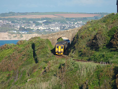 150261 & 150233 Porthminster Point, St Ives (2) (Marky7890) Tags: gwr 150233 150261 class150 sprinter 2a48 stives railway cornwall stivesbayline train porthminsterpoint