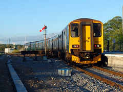 150261 & 150233 St Erth (2) (Marky7890) Tags: gwr 150233 150261 class150 sprinter 2a51 sterth railway cornwall stivesbayline train