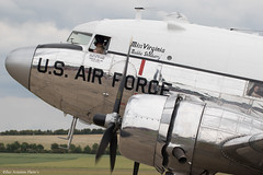 N47E (Baz Aviation Photo's) Tags: 430665 n47e douglas c47a united states air force missvirginia duxford egsu qfo daks over normandy