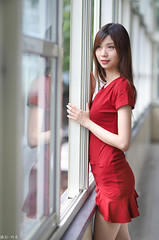 IMG_8678L (攝影玩家-明晏) Tags: 人 人像 戶外 outdoor portrait 美女 辣妹 model 外拍 taiwan taipei canon people 女生 女孩