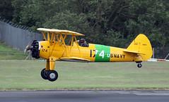 G-OBEE (PrestwickAirportPhotography) Tags: egpk prestwick airport boeing an75n1 stearman gobee