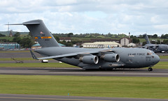 98-0054 (PrestwickAirportPhotography) Tags: egpk prestwick airport usaf united states air force boeing c17 globemaster 980054 charleston mobility command