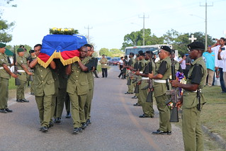 Official Funeral for Hon. Frank A. Lizama