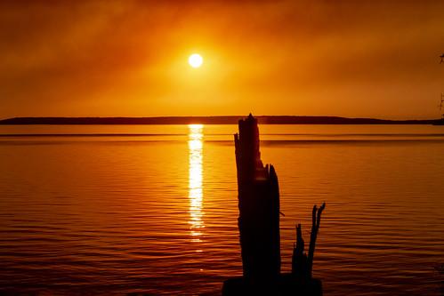 Sunset, Waskesiu, Prince Albert National Park, Saskatchewan