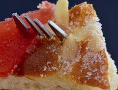 Macro Mondays.  Styling Food on a Fork (rosaadda) Tags: stylingfoodonafork macromondays