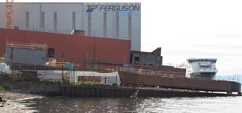 Hull 802 Hull 803 and MV Glen Sannox